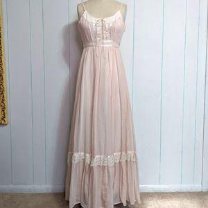 VTG Gunne Sax Prairie Maxi Dress